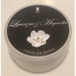 crema da barba liquirizia & magnolia da viaggio