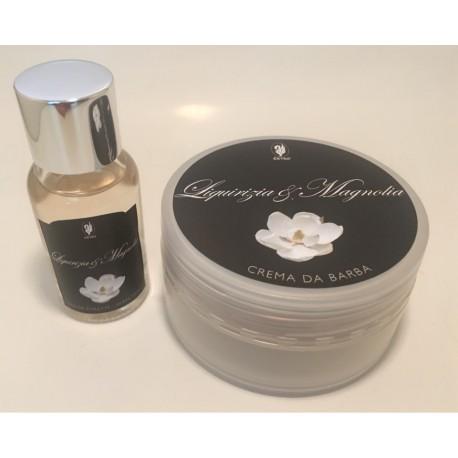 set da viaggio liquirizia magnolia as-edt + crema da barba