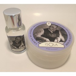 set da viaggio isola as-edt + crema da barba