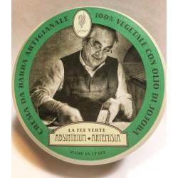 crema da barba absinthium artemisia con olio di jojoba