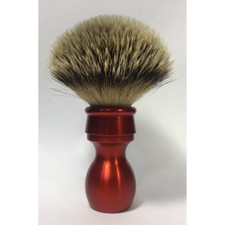 pennello rosso metallico silvertip