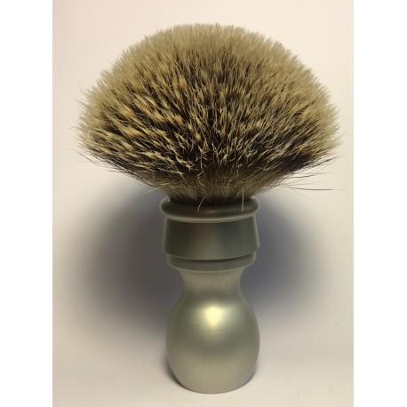 pennello satinato metallico silvertip
