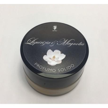 profumo solido liquirizia magnolia extro'