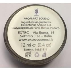 profumo solido tabacco 12 ml.