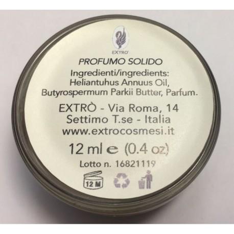 profumo solido via roma 14 rivoluzione 12 ml.