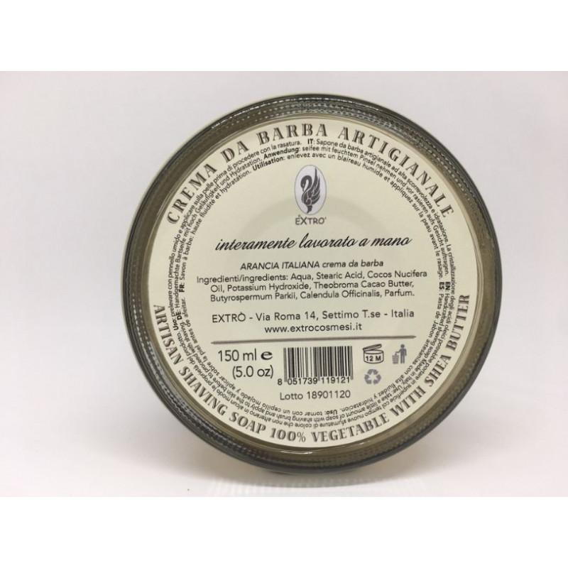 crema da barba arancia italiana 150 ml.