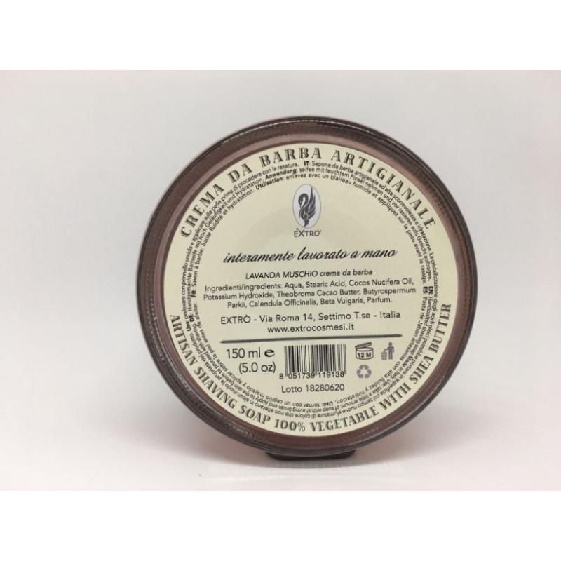 crema da barba lavanda muschio 150 ml.