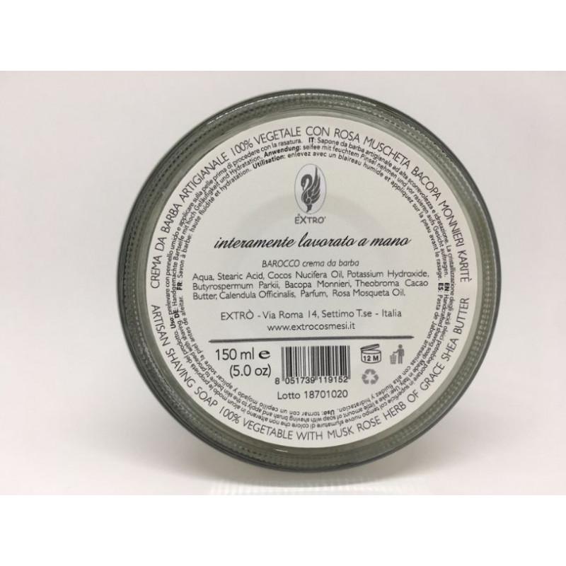 crema da barba barocco 150 ml.
