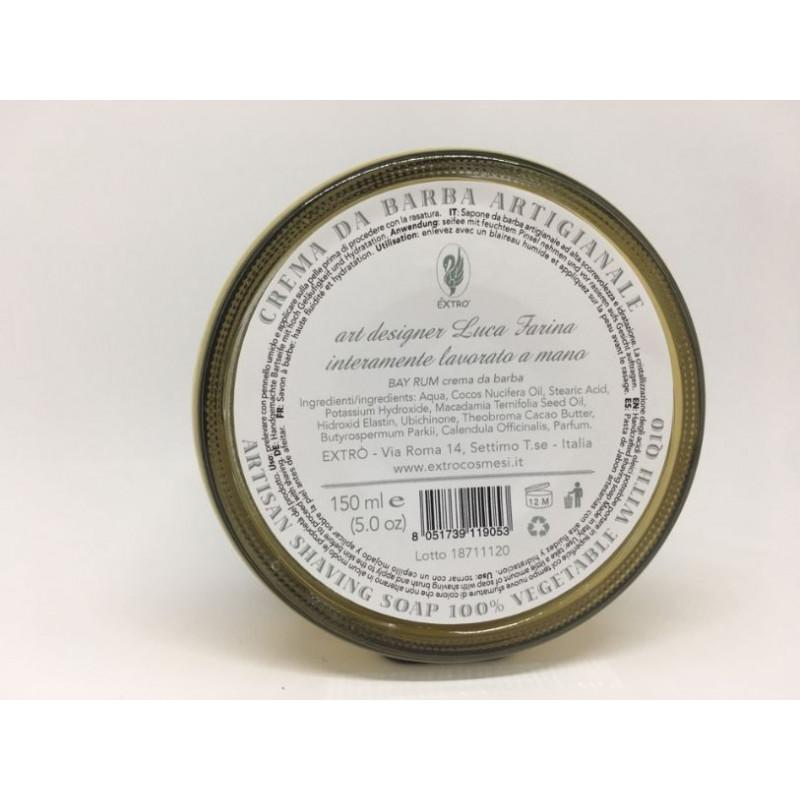 crema da barba bay rum 150 ml.
