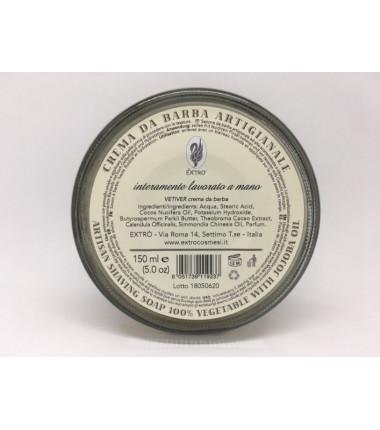 crema da barba Vetiver 150 ml.