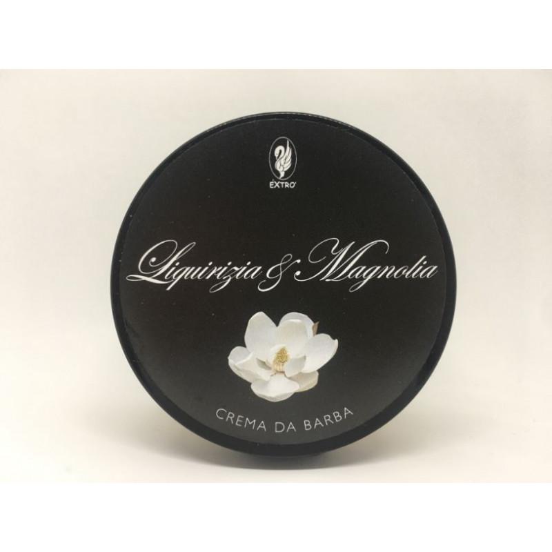 crema da barba liquirizia & magnolia 150 ml.