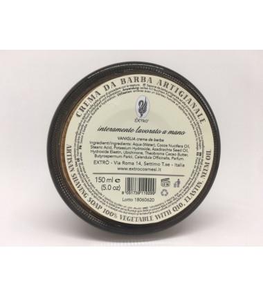 crema da barba vaniglia 150 ml.