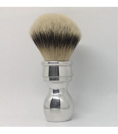 pennello alluminio metallico silvertip