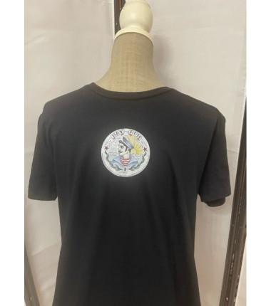 t-shirt bay rum nera L