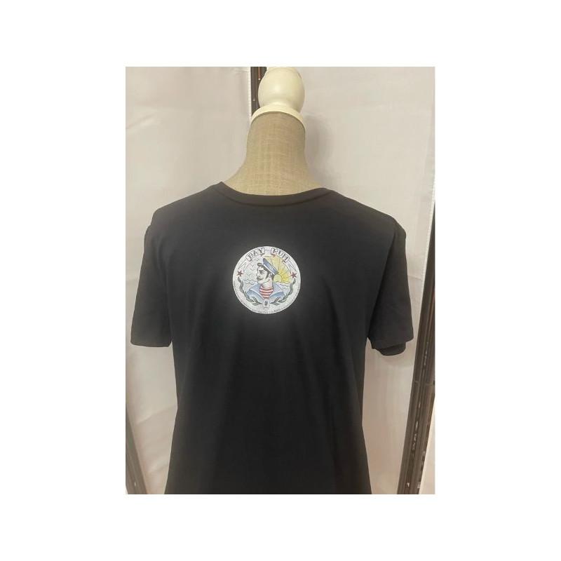 t-shirt bay rum nera M