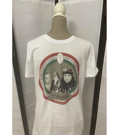 t-shirt 17° stormo bianca XL
