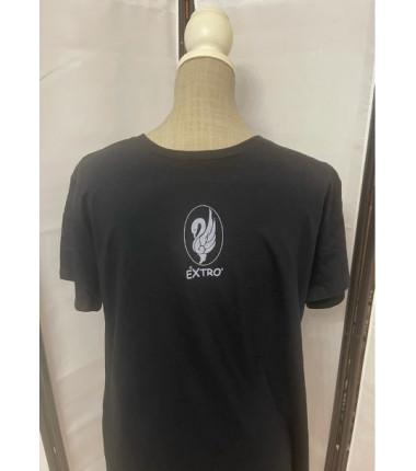 t-shirt extrò nera XL