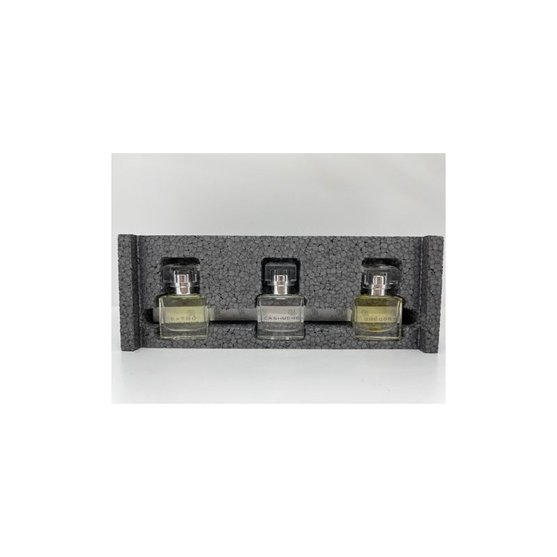 set 3 pezzi profumi eau de parfum